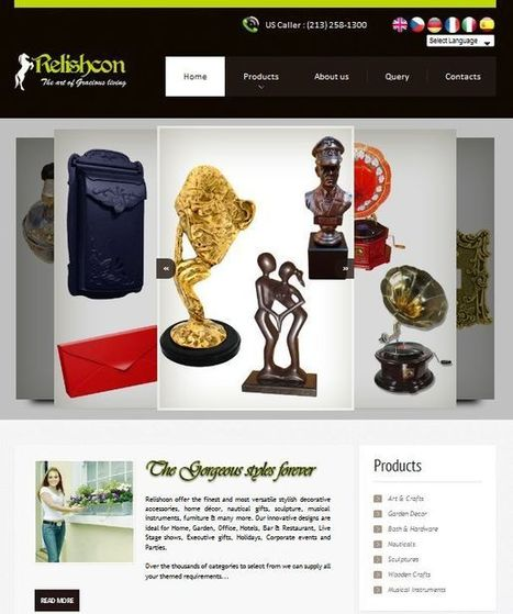 Pacific Infotech redesign a website for Relishcon India   Website Design Services   Scoop.it