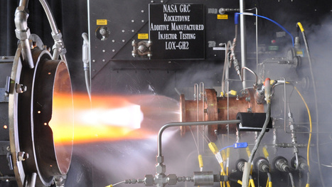 NASA's 3D-Printed Rocket Injector Test: A Beautiful Inferno - Gizmodo | test | Scoop.it