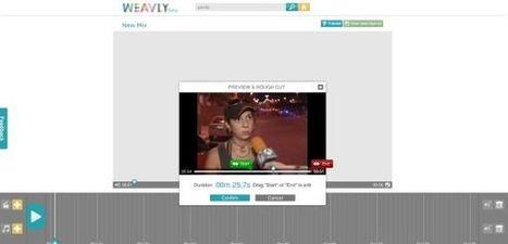 Weavly te permite crear tus propios montajes con vídeos de YouTube y audios de SoundCloud | Las TIC y la Educación | Scoop.it