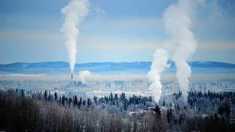 Fairbanks area, trying to stay warm, chokes on wood stove pollution | Sustain Our Earth | Scoop.it