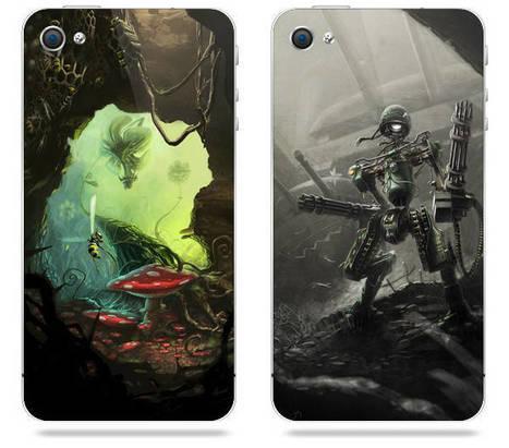 [Concours] De magnifiques stickers iPhone et Galaxy SII à gagner | coreight | Scoop.it