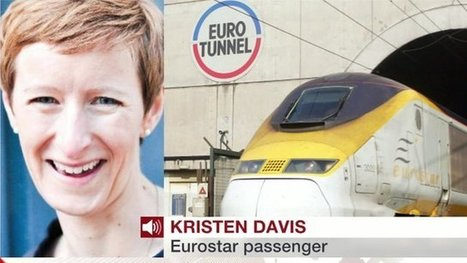 Eurostar train 'crawled through tunnel' | Kent News and News in England and the South East of England | Scoop.it