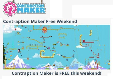 Contraption Maker Free Weekend - Contraption Maker | iPads in Education | Scoop.it