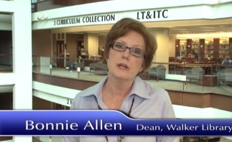 James E. Walker Library -- Middle Tennessee State University video tour | Tennessee Libraries | Scoop.it