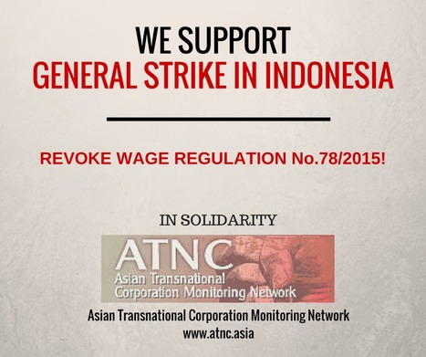 Support General Strike in Indonesia | Asian Labour Update | Scoop.it