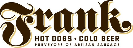Frank | Hot Dogs Cold Beer | Purveyors of Artisan Sausage | 4th and Colorado, Austin Texas | Great type | Scoop.it