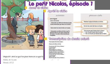 """Le """"Petit Nicolas 3D"""" en cours de FLE - Campus FLE Education   FLE pour les petits   Scoop.it"""