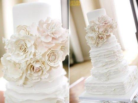 Multi Shape Wedding Cake classic Cake   CLASSIC MULTISHAPE WEDDING CAKES   Scoop.it