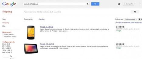 Google Shopping: cómo promocionar mi tienda online - Enkartic | Links sobre Marketing, SEO y Social Media | Scoop.it