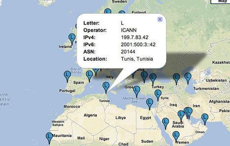 L'ICANN installe en Tunisie le premier serveur DNS Racine de la région Maghreb | MY TOPIC | Scoop.it