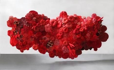 Emilie Faif: Red | Art Installations, Sculpture, Contemporary Art | Scoop.it