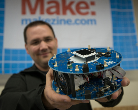 New Arduino Robot Available in the Maker Shed at Maker Faire | Innovative ICT | Scoop.it