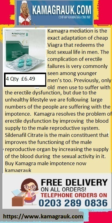 Kamagra medication for Complication of erectile failure | Kamagra male Impotent | Scoop.it
