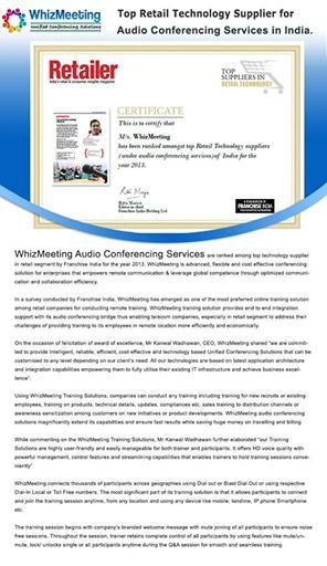 Web Conferencing services in noida,delhi,Patna and Gurgaon | Whiz Meeting | Scoop.it