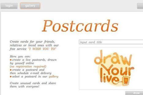 I wish you, servicio de postales virtuales en el que podemos crear animaciones a mano alzada | Gelarako erremintak 2.0 | Scoop.it