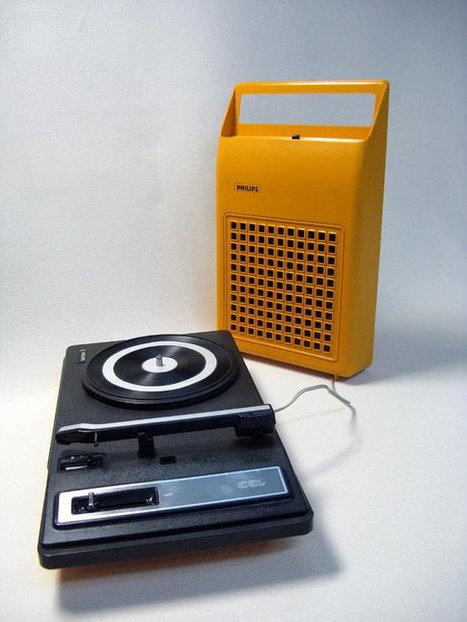 1970s Vintage Philips Record Player | Chummaa...therinjuppome! | Scoop.it