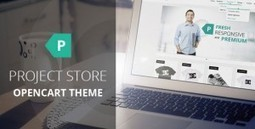 Project Store - Themeforest Responsive OpenCart Theme | Theme Mart | Scoop.it