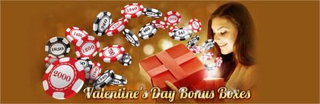 Enjoy the Most Romantic Valentine Weekend from Casino Moolah | Free Slots Online | Scoop.it