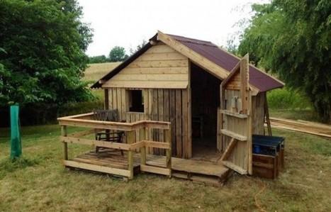 20 DIY #Pallet Shelter Designs :-) | DIY | Scoop.it