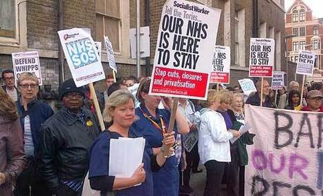 Royal London protest against NHS cuts   Health workers   Scoop.it