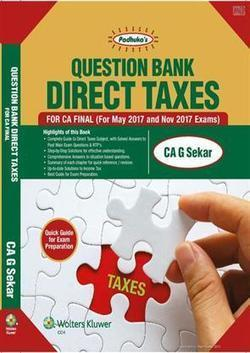 Padhuka's Question Bank Direct Taxes For CA Final - Buy Question Bank Direct Taxes For CA Final Books | Accounting Books - Law, Lega and Taxation Books | Scoop.it
