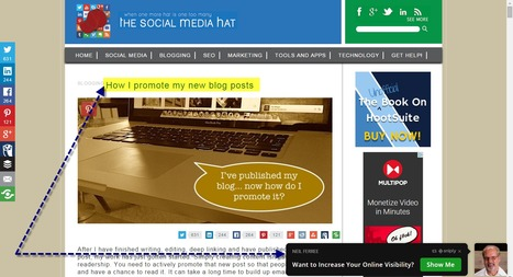 How to Promote a New Blog Post Article | Web Development and Marketing - IT Education | Scoop.it
