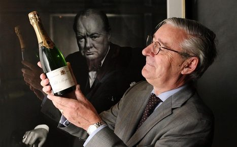 Victory for the entente cordiale! Winston Churchill's favourite champagne maker to sell Pol Roger in pint bottles following Brexit vote | Le Vin en Grand - Vivez en Grand ! www.vinengrand.com | Scoop.it