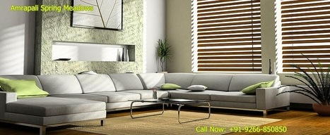 Graceful Residential Property Amrapali Spring Meadows | Residential Property in Noida | Scoop.it