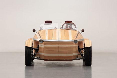 L'industrie c'est fou : Toyota envoie du bois à la Design Week de Milan | Mobilité et Transports | Scoop.it