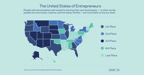 Do You Live in an Entrepreneurial State? | Fundraising & Startups | Scoop.it