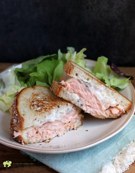 #HealthyRecipe : The Best Salmon Melt | The Man With The Golden Tongs Goes All Out On Health | Scoop.it