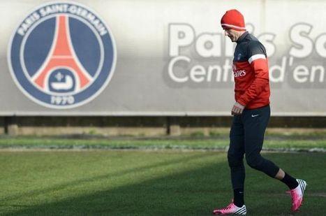 EN IMAGES. Beckham s'entraîne avec le PSG   Management of sport   Scoop.it