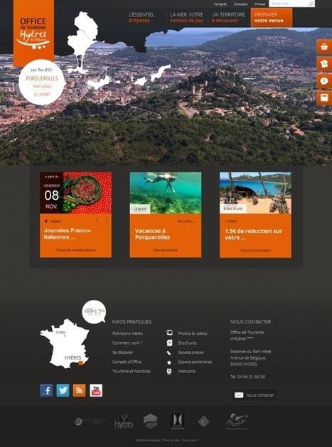 Nouveaux sites web de destinations touristiques (Novembre 2013)   eTourisme & mTourisme   Scoop.it