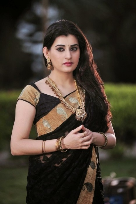 Spicy Actress Archana Exclusive Black Saree Still Pictures from Anandini Telugu Movie, Actress, Indian Fashion, Tollywood | CHICS & FASHION | Scoop.it