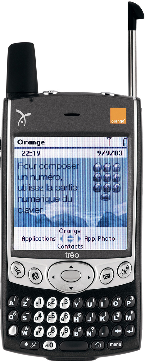 Handspring Treo 600 | Personal Digital Assistant of our Childhood | Scoop.it