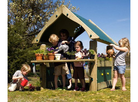 Green Thumb Potting Shed | Outdoor Learning | Commercial Playground Equipment | Commercial Playground Equipment | Scoop.it