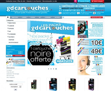 "Témoignage de Gilbert de la Boutique en Ligne ""gd cartouches"" 