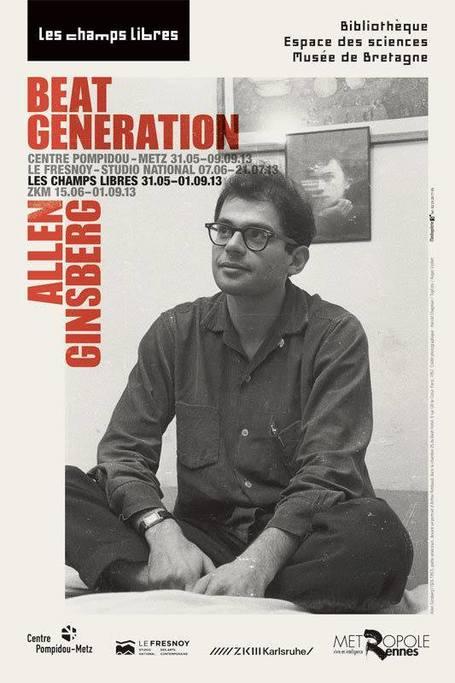 31 mai 2013-1er septembre 2013  |  Beat Generation / Allen Ginsberg, Les Champs Libres, Rennes | Terres de femmes  |  Livres &  Littérature | Scoop.it