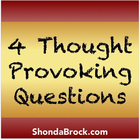 4 Thought Provoking Questions | For Lovers of Paranormal Romance | Scoop.it
