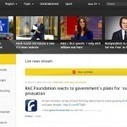Embracing the stream: ITV's new Twitter-inspired news site breaks the day's news into pieces | Multimedia Journalism | Scoop.it