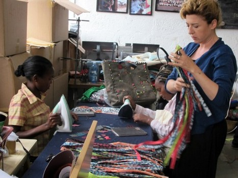 Carmina Campus Shows Fendi's Green Side With African-Made Eco-Fashion | Made in Africa | Scoop.it