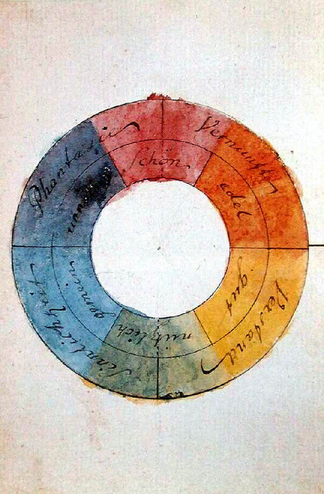 Goethe on the Psychology of Color and Emotion | the thoughtful marketer | Scoop.it