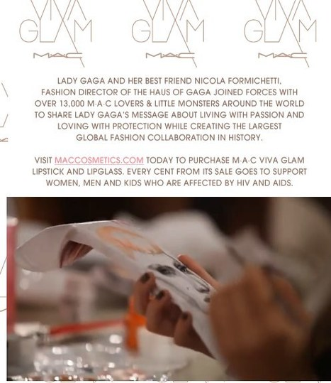 M·A·C - VIVA GLAM combine social media, global collaboration for charity and selling lipstick | 'Wealth of the Product' | Scoop.it