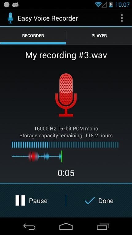 Enregistreur de Voix Facile : Enregistreur vocal | Images libres de droits, boite à outils | Scoop.it