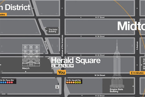 NYC Wayfinding | New at Pentagram | Corporate Identity | Scoop.it