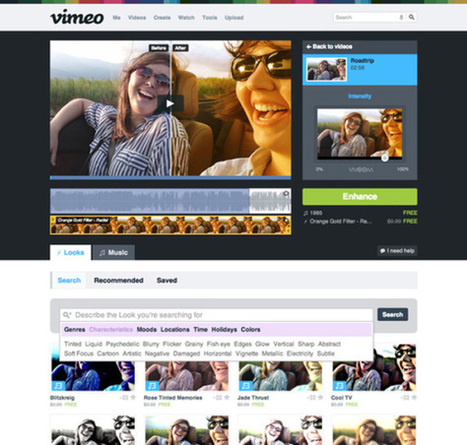 Vimeo Looks to Become the Instagram of Video Adding 500 New Creative Filters | Networking Tools | Scoop.it