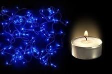 Buy Big Bang Diwali Offer- Blue Rice Lights + 9 Tea lights | LED Lighting Products | LED Lights | Scoop.it