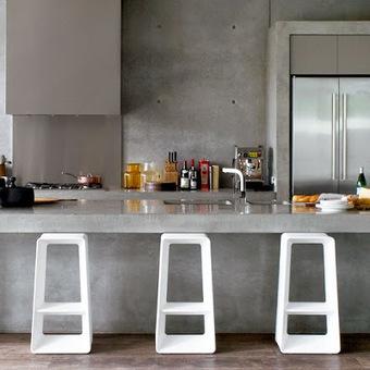 Diseño de Cocinas con Cemento Pulido   Diseño Industrial   Scoop.it