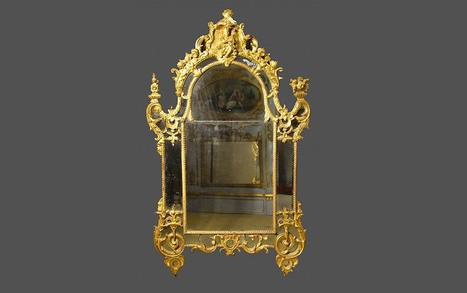Miroir ancien | Antiquaire | Scoop.it