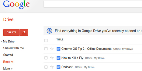 How to Activate Google Docs Offline on Your Chromebook | Time to Learn | Scoop.it